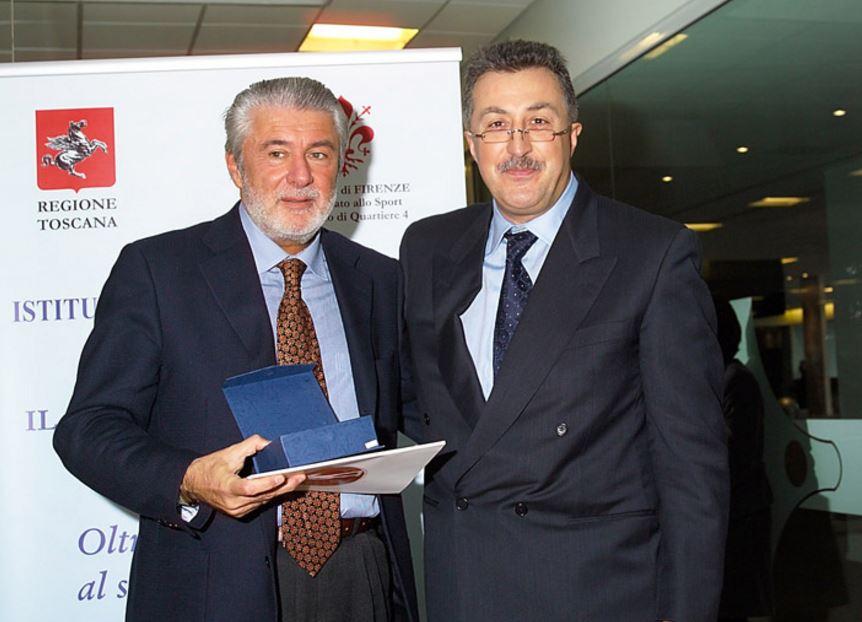 inaugurazione sede MArignole Istituto di medicina dello Sport 2005