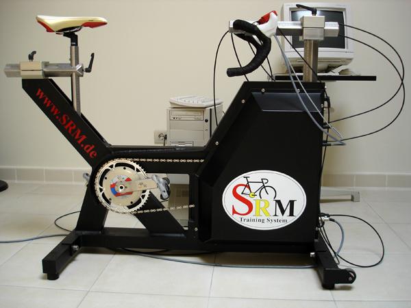 Test funzionali, macchinario ergometro srm